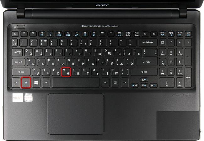 Какими кнопками включить камеру на ноутбуке