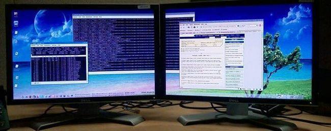 как запустить второй монитор с компьютера