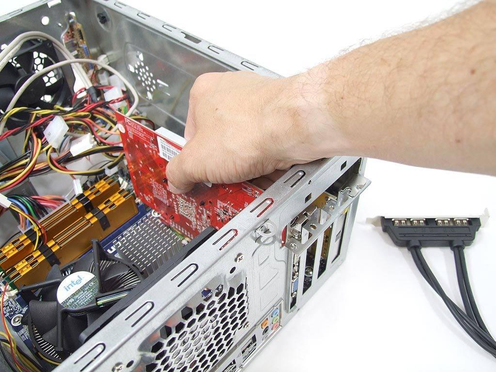 Как запустить компьютер с неработающей видеокартой