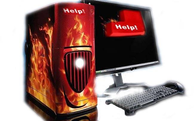 Как проверить, почему компьютер греется и выключается