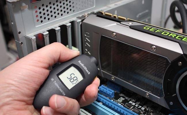 Как измерить температуру видеокарты