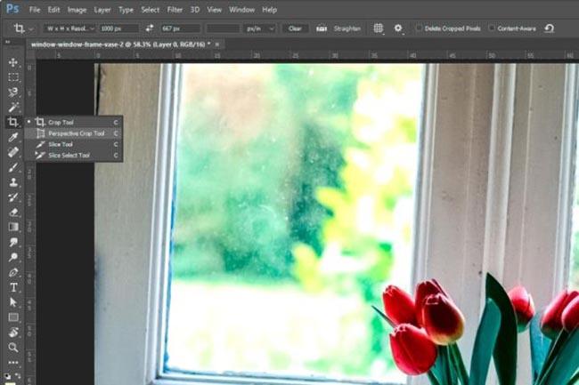 Photoshop cs6 инструмент кадрирование