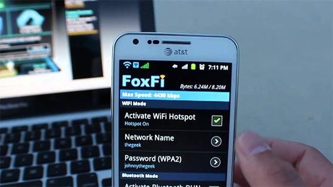 Приложение для раздачи wifi с телефона андроид